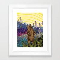ursidae Framed Art Print