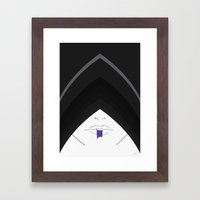 ... The Hood Was Adopted… Framed Art Print