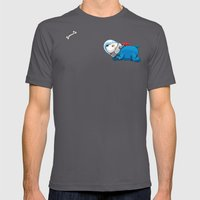 Spacedoggy Mens Fitted Tee Asphalt SMALL