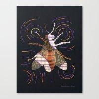 Decline of bees (Déclin des abeilles) Canvas Print