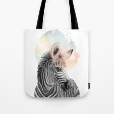 Zebra // Dreaming Tote Bag