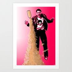 Pink Bombs Art Print