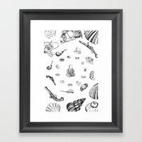 Necke Framed Art Print