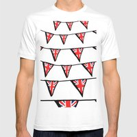 Union Jack Mens Fitted Tee White SMALL