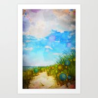 Ocean Dreams Art Print