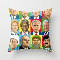 select your politic Throw Pillow