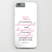 The beauty of a woman iPhone 6 Slim Case