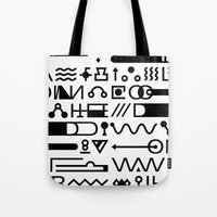 Blood On The Wall Tote Bag