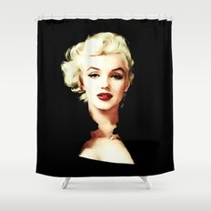 Marilyn - Pop Art - Monroe Shower Curtain