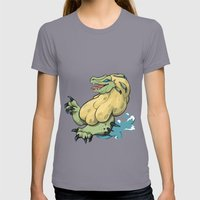 Royal Ludroth Womens Fitted Tee Slate SMALL