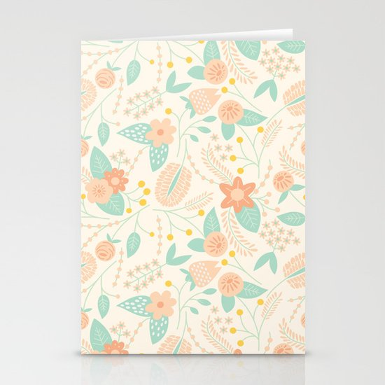 Vine Dance Stationery Card