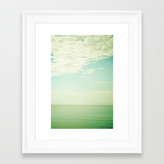 Breathe Framed Art Print