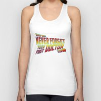 You Never Forget Your First Doctor Unisex Tank Top