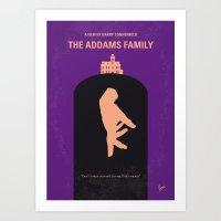 No423 My The Addams Fami… Art Print