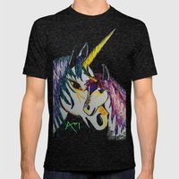 Fantasy... Mens Fitted Tee Tri-Black SMALL