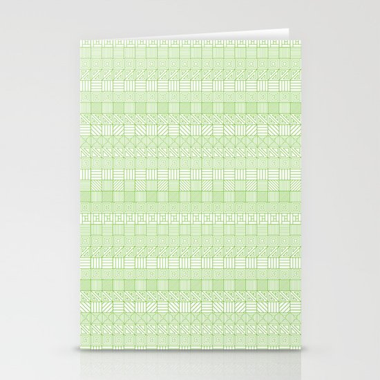 Square Syndrome Stationery Card