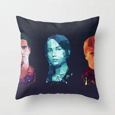 Hunger Games 3 Throw Pillow