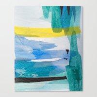 Blue Bayou  Canvas Print