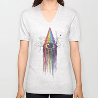 Look Into The Future Unisex V-Neck