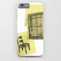 iPhone & iPod Case featuring invisible man looking out of the window by suzy