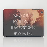 Fallen Skies iPad Case