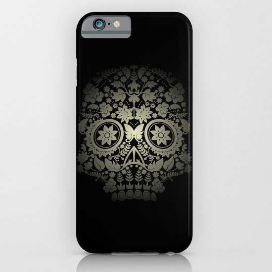 Day of the Dead Skull No.15 iPhone & iPod Case