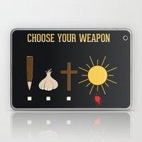 Choose Your Weapon Laptop & iPad Skin