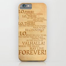 Viking Prayer Slim Case iPhone 6s