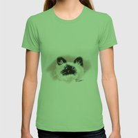 Crazy Siamese Womens Fitted Tee Grass SMALL
