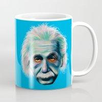 Colorful Einstein Mug