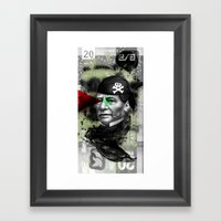 Benito Framed Art Print