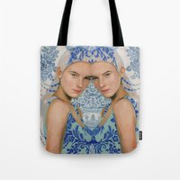 Ice By Alex Garant Tote Bag