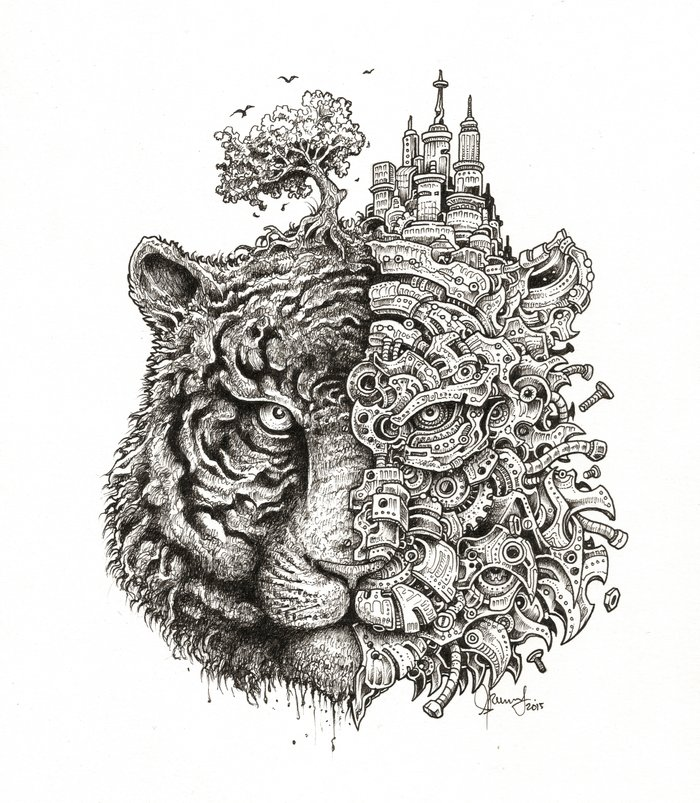 Equilibrium Art Print By Kerby Rosanes