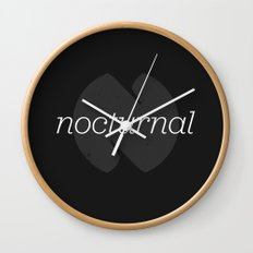 Nocturnal Wall Clock