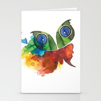 Colorful Butterfly Stationery Cards