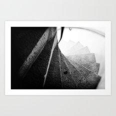 166 Steps Art Print