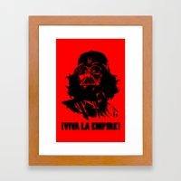 Viva la Empire! Framed Art Print