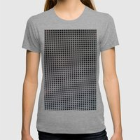 HOLES Womens Fitted Tee Athletic Grey SMALL