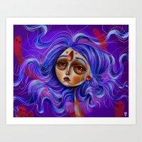 Gypsy Spirit Art Print