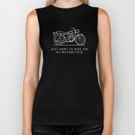 Triumph - Just Want To R… Biker Tank