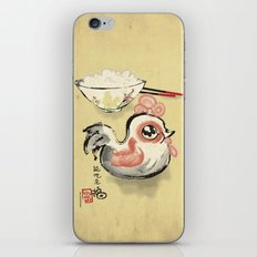 The Asian Chicken Rice Bowl iPhone & iPod Skin
