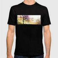 Unexplored Avenues By De… Mens Fitted Tee Black SMALL
