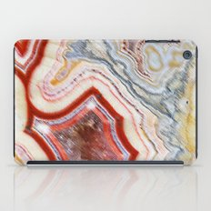 Marble Red iPad Case