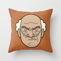 Faces Of Breaking Bad: H… Throw Pillow