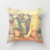 Converse2 Throw Pillow