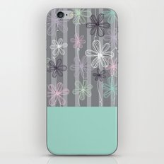Flower Play iPhone & iPod Skin