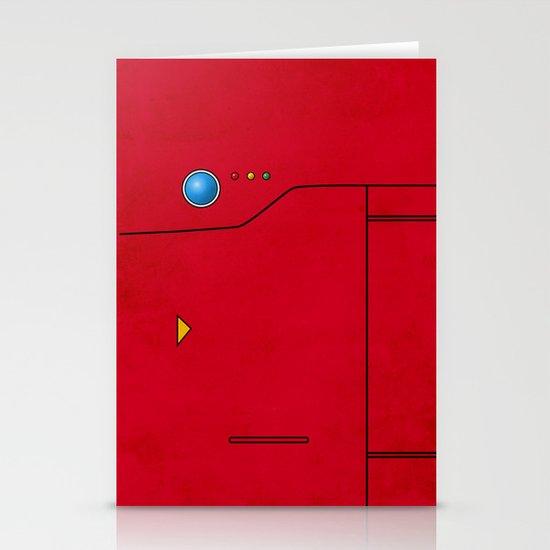 Dexter the Pokedex - Minimalism Pokemon Poster Stationery Card