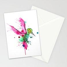 Hummingbird Skeleton Watercolor/Pen&Ink Stationery Cards