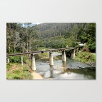 Wallhala Rail Bridge Canvas Print