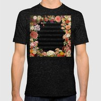 Modern Garden Mens Fitted Tee Tri-Black SMALL